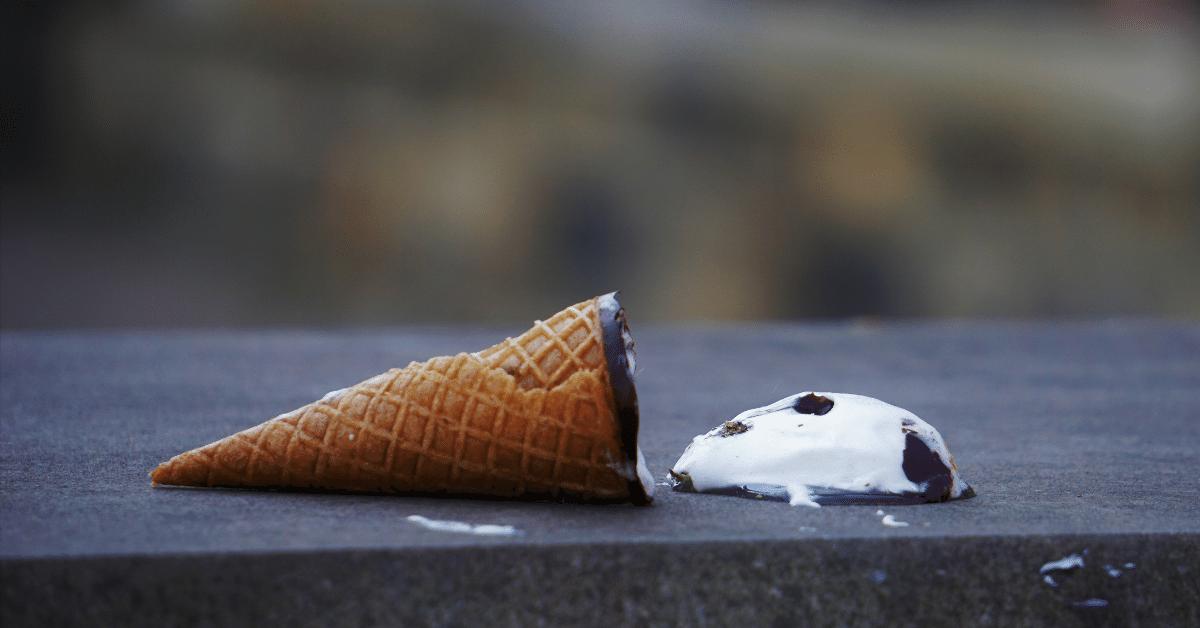 ice cream fail